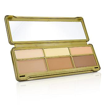 BYS Creme Contouring Palette (3x Contouring Powder, 3x Highlighting Powder) 20g/0.67oz