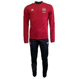 2019-2020 Nurnberg Umbro Knit Tracksuit (Red)