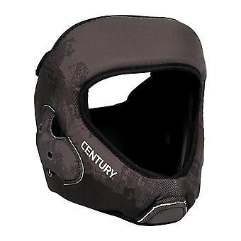 Jahrhundert Kopfschutz C-Gear waschbar Sparring schwarz/grau