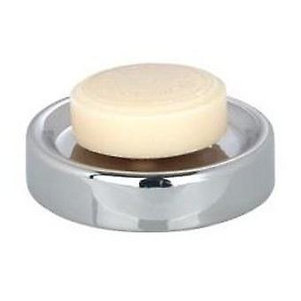 Wenko Jabonera cerámica cromo de polaris (accesorios de baño, plato de jabón y dispensadores)