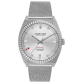 Jason hyde ruby-eigth Quartz Analog Woman Watch with JH20004 Stainless Steel Bracelet
