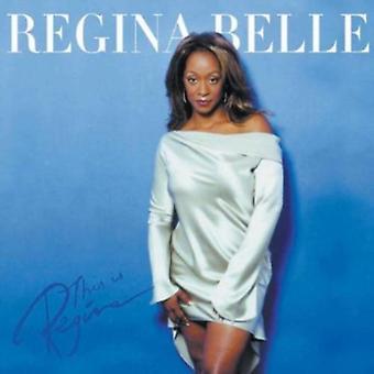 Regina Belle - This Is Regina! [CD] USA import