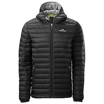 Kathmandu Black Mens Heli Hooded Down Jacket