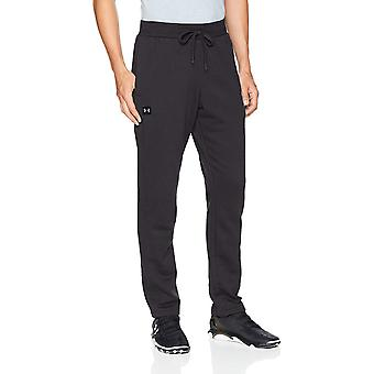 Under Armour Men's Rival fleece Pants, Black, Black (001)/Black, Size Medium