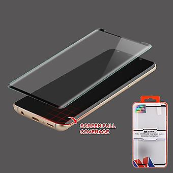 MYBAT Full Coverage Tempered Glass Screen Protector/Black for Galaxy Note 9