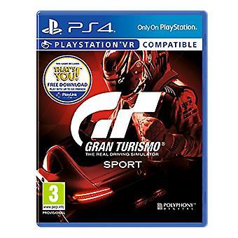 Gran Turismo sport-PS4-nieuw