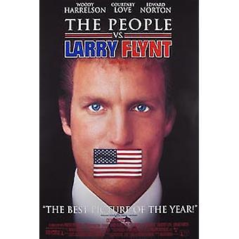 Ihmiset vs Larry Flynt (video) (1996) alkuperäinen video juliste