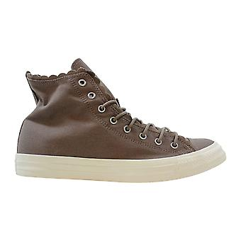 Converse Chuck Taylor All Star Salut Sepia Stone/Sepia Stone-Egret Frilly Thrills 564119C Femmes-apos;s