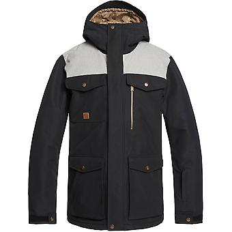 Quiksilver Raft Snow Jacket in Black