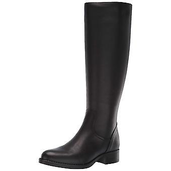 ستيف مادن النساء جاسبر الجلود اللوز تو الركبة عالية ركوب الأحذية