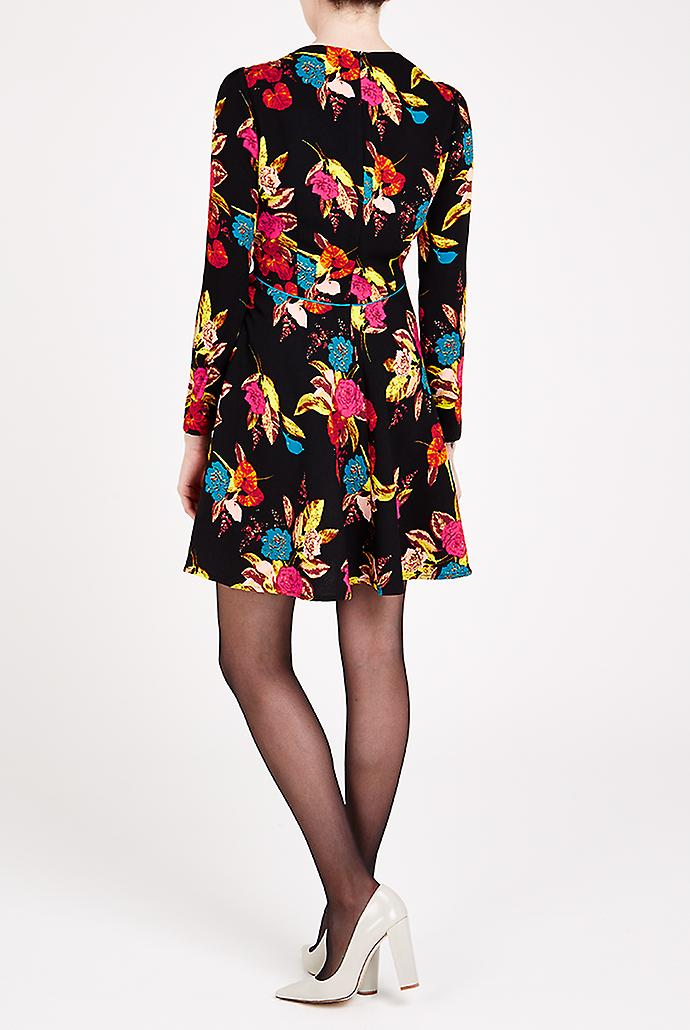 Louche Cybill Dress Black
