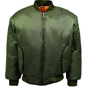 Mens Classic MA1 Bomber Jacket