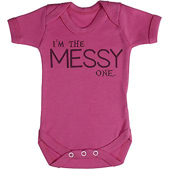 I'm he Messy One - Baby Bodysuit