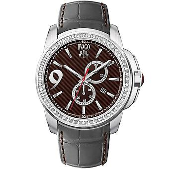 Jivago Men's Gliese Maroon Dial Watch - JV1536