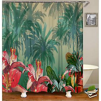 Tropical Atmosphere Shower Curtain