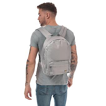 Lyle And Scott Lyle Backpack In Grey- Adjustable Padded Straps- Carry Handle To