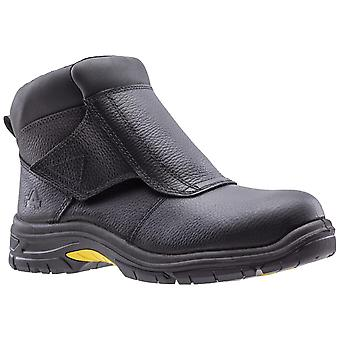 Amblers Safety Mens AS950 Saldatura Safety Boot Nero