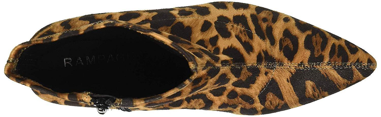 Rampage Women's Thaimara Stiletto Heel Pointed Toe Ankle Bootie Boot, Leopard...