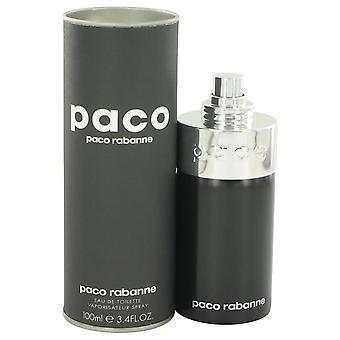 Paco unisex eau de toilette spray (unisex) by paco rabanne   400232 100 ml