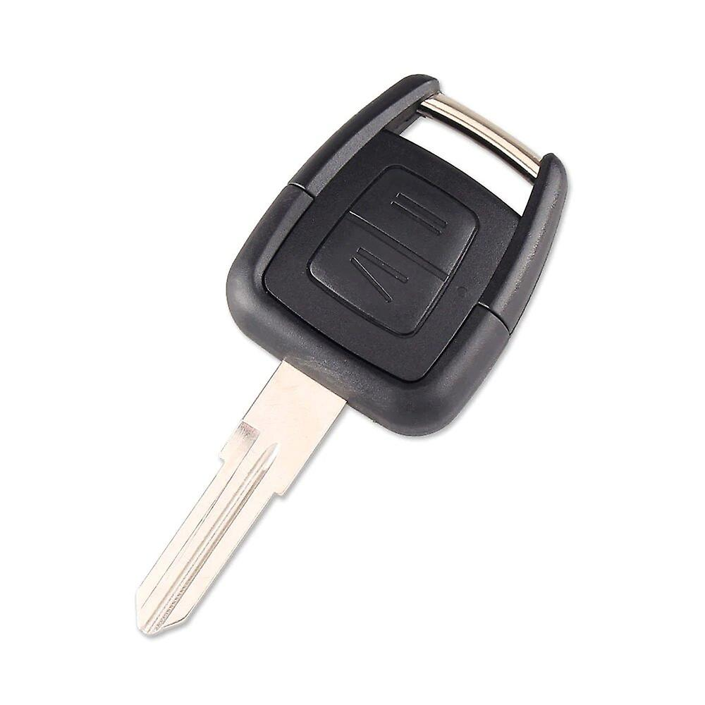 2 buttons car key replacement shell Opel YM28 blade