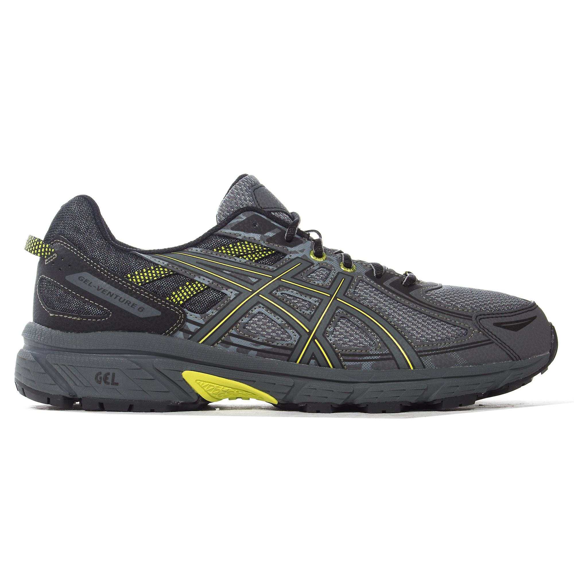 Asics Gel-Venture 6 Mens Trail Running Fitness Trainer Shoe Grey