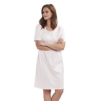 Féraud 3191240-11716 Women's High Class Pearlblush Pink Cotton Night Gown Loungewear Nightdress