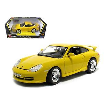 Porsche 911 GT3 Strasse Yellow 1/18 Diecast Model Car par Bburago