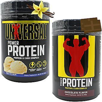 Universal Nutrition Power Protein Powder 15 annosta, monimutkainen hiilihydraattisekoitus