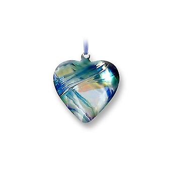 Nobile Glassware December Birth Gem Heart