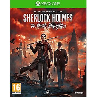 Sherlock Holmes The Devils Daughter (Xbox One) - Als nieuw