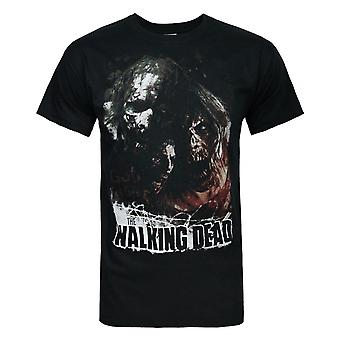 Walking Dead God Forgive Us Men's T-paita