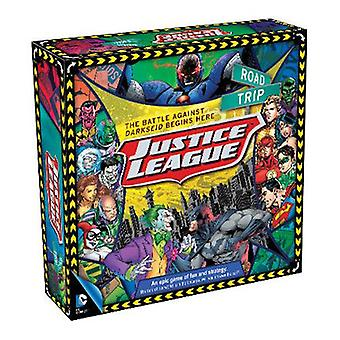 Dc tegneserier justice league road trip brettspill