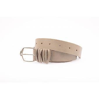 Grey Vintage Women's Belt With Wrapped Loop