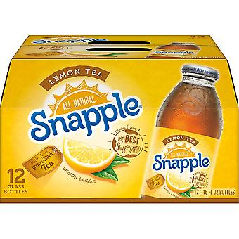 Snapple Citron Is te-( 473 Ml X 12 Burkar )