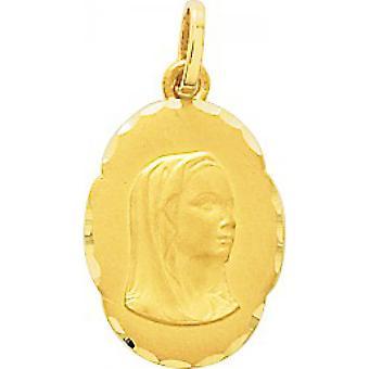 Oro Vuoto Oro ciondolo 375/1000 giallo (9K)