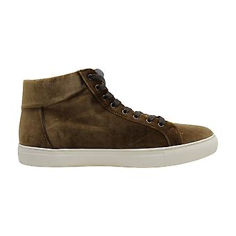 Kenneth Cole Réaction Men-apos;s Road High-Top Velvet Sneakers Men-apos;s Chaussures