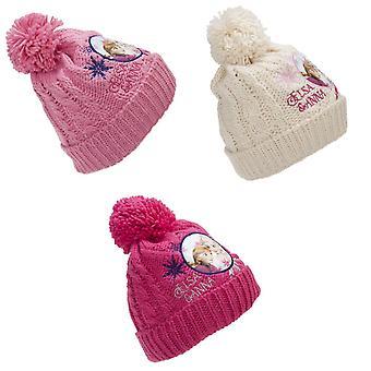 Zmrazená mládež/děti Anna a Elsa pletené Bobble Hat