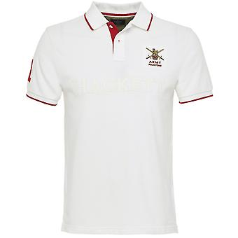 Hackett Classic Fit Army Polo Shirt