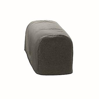Changing Sofas Large Size Graphite Wool Feel Pair of Arm Caps for Sofa Armchair
