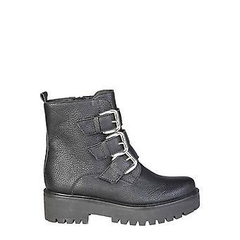 Ana Lublin Eredeti Nők őszi / téli boka boot - fekete szín 30263