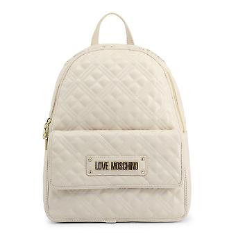Love Moschino Original Women Spring/Summer Backpack/Rucksack White Color - 70834