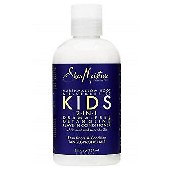 Shea Moisture Marshmallow Root & Blueberries Kids 2-in-1 Detangler & Leave-In Conditioner 236ml