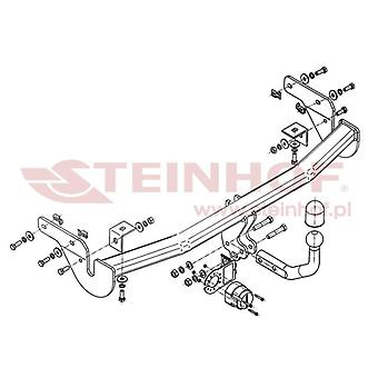 Steinhof Tow Bars And Hitches for 207 Van 2007 to 2012