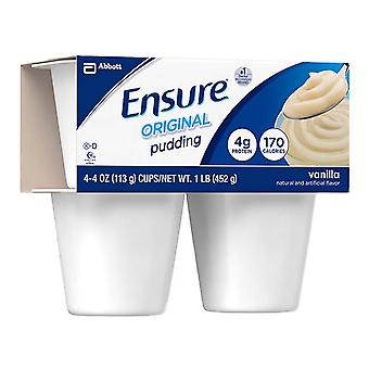 Ensure nutritional pudding, homemade vanilla, 4 ea