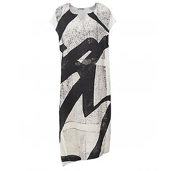 Crea Concept Abstract Print Dress