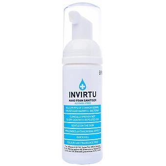 INVIRTU Hand Foam Alcohol Free Sanitiser 50ml