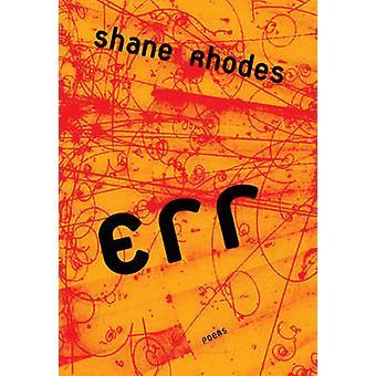 Err by Shane Rhodes - 9780889712560 Book