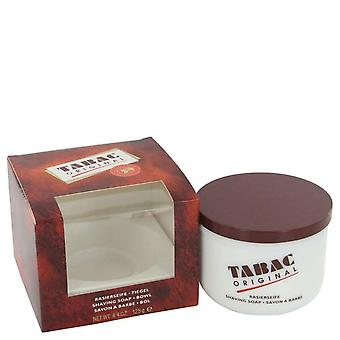 Tabac shaving soap with bowl by maurer & wirtz   426747 130 ml