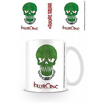 Suicide Squad (Killer Croc Skull) Becher