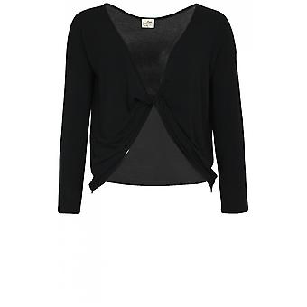 A Postcard from Brighton Black Twist Front Top
